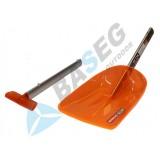 Лопата снеговая складная ЭКОС 508 (поликарбонат)