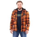 Моторубашка STREETFIGTER Orange с защитой