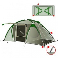 Палатка RockLand Family 6 (3+3)