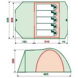 Палатка RockLand Camper 5